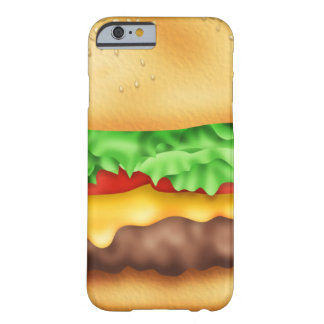Hamburger with the lot! barely there iPhone 6 case
