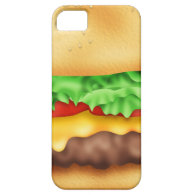 Hamburger with the lot! iPhone 5 cases