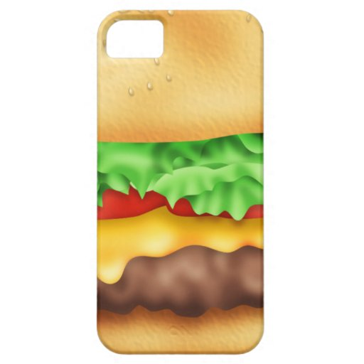 Hamburger with the lot! iPhone SE/5/5s case