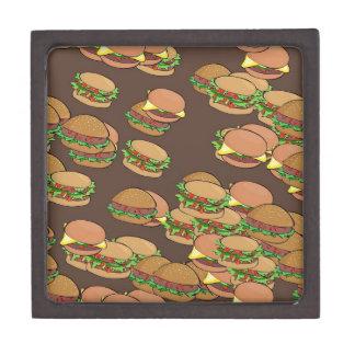 Hamburgers And Cheeseburgers Gift Box