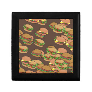 Hamburgers And Cheeseburgers Keepsake Box