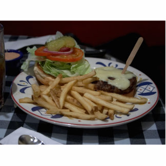 Hamburgers And Fries Photo Cut Out
