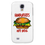 Hamburgers are Ideal Galaxy S4 Cases