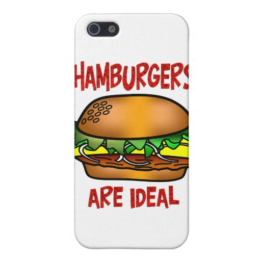 Hamburgers are Ideal iPhone 5 Cases