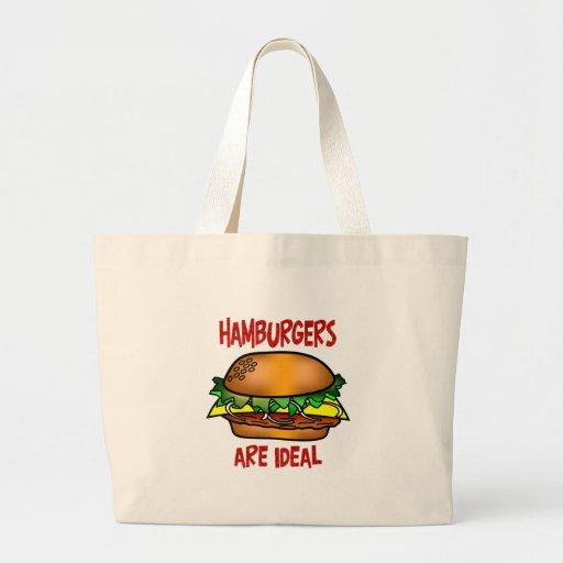 Hamburgers are Ideal Tote Bag