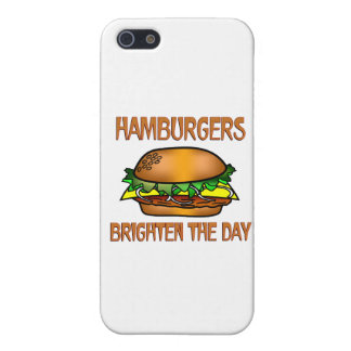 Hamburgers Brighten the Day Covers For iPhone 5