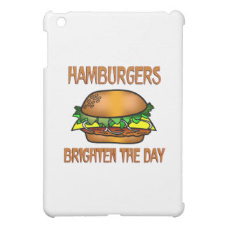 Hamburgers Brighten the Day iPad Mini Covers
