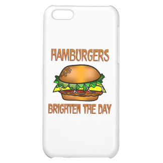 Hamburgers Brighten the Day iPhone 5C Cases