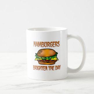 Hamburgers Brighten the Day Mug
