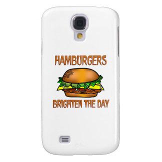 Hamburgers Brighten the Day Samsung Galaxy S4 Case