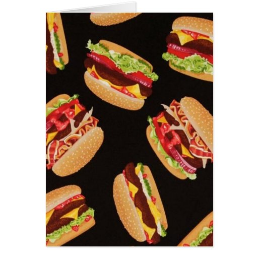 Hamburgers Cards