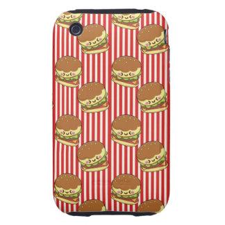 Hamburgers Tough iPhone 3 Cover
