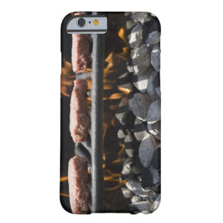 Hamburgers cooking on grill barely there iPhone 6 case