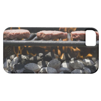 Hamburgers cooking on grill iPhone SE/5/5s case