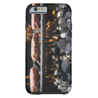 Hamburgers cooking on grill tough iPhone 6 case