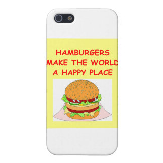 hamburgers covers for iPhone 5