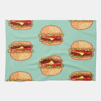 Hamburgers Kitchen Towel