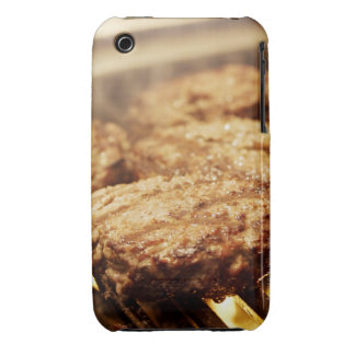 Hamburgers on the Grill iPhone 3 Case