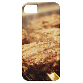 Hamburgers on the Grill iPhone 5 Cover