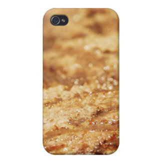 Hamburgers on the Grill Case For iPhone 4
