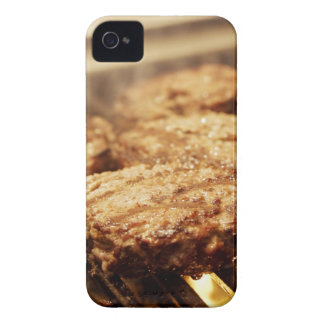 Hamburgers on the Grill iPhone 4 Case