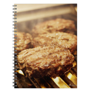 Hamburgers on the Grill Notebook