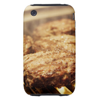 Hamburgers on the Grill Tough iPhone 3 Case