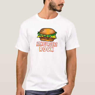 Hamburgers Rock T-Shirt