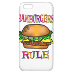 Hamburgers Rule Case For iPhone 5C