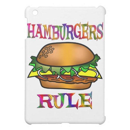 Hamburgers Rule Case For The iPad Mini