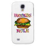 Hamburgers Rule Samsung Galaxy S4 Cover