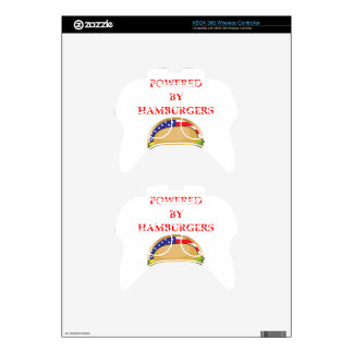 HAMBURGERS XBOX 360 CONTROLLER SKINS