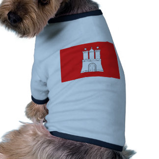 Hamburgo Alemania Camisa De Mascota