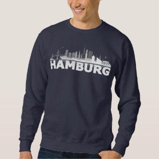 Hamburgo City horizonte de pastor de ciudad Pulover Sudadera
