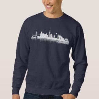 Hamburgo City horizonte de pastor de ciudad Sudadera
