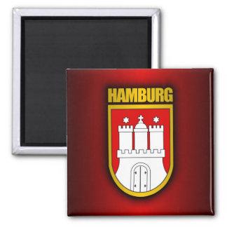 Hamburgo Imán Cuadrado