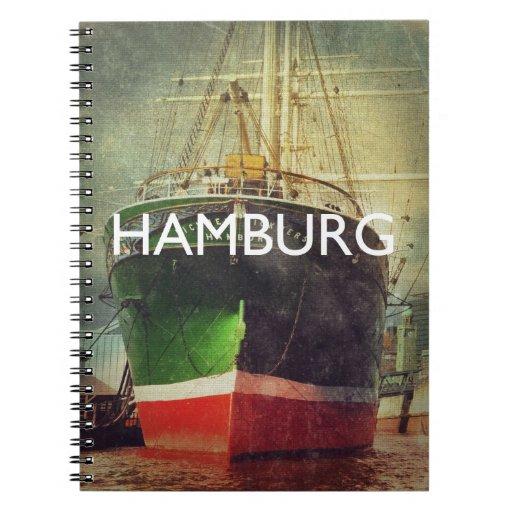 Hamburgo Libro De Apuntes Con Espiral