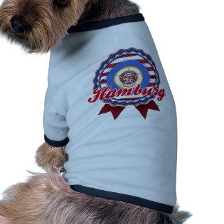 Hamburgo manganeso ropa perro