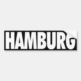 Hamburgo Pegatina Para Auto