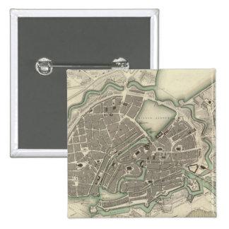 Hamburgo Pin Cuadrada 5 Cm