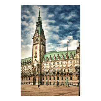 Hamburgo Rathaus, Alemania Papelería