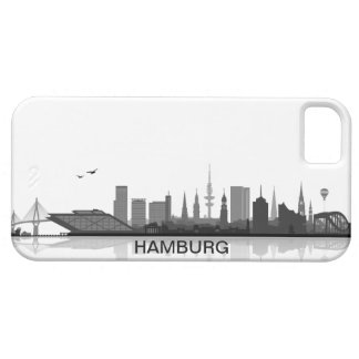 Hamburgo skyline iPhone 5 sleeve/Case iPhone 5 Coberturas