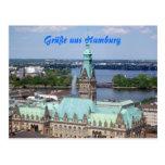 Hamburgo tarjeta postal