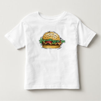 Hamburguesa - camiseta del niño