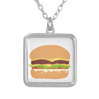hamburguesa colgante cuadrado