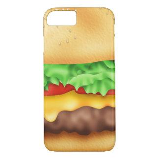 ¡Hamburguesa con la porción! Funda iPhone 7