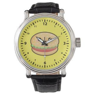 Hamburguesa de Kawaii Reloj De Mano