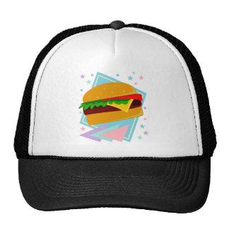 Hamburguesa deliciosa linda gorra