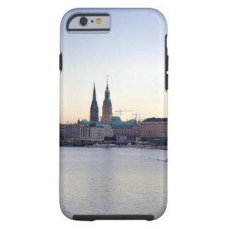 Hamburguesa Deutschland de Hafen del puerto de Funda De iPhone 6 Tough