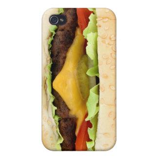 hamburguesa divertida iPhone 4/4S funda